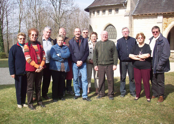Quelques membres de l'association Mémorial de Dormans 1914-1918