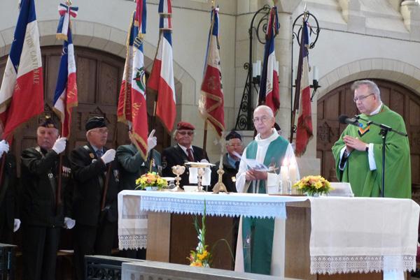 Célébration de la messe, fête de la chapelle – Juillet 2012