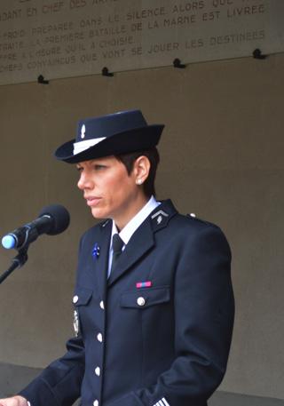 Commandante Céline MICHTA