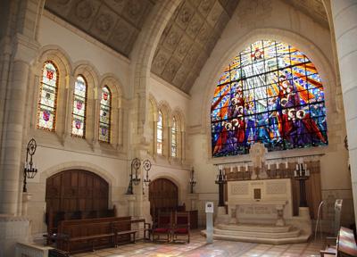 Chapelle supérieure | Mémorial de Dormans