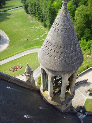 Clocheton de la façade principale | Mémorial de Dormans