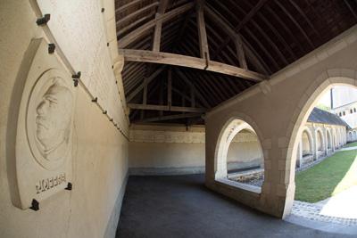 Cloître (détail) | Mémorial de Dormans