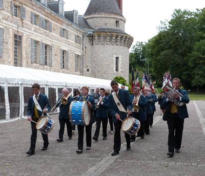 Défilé de la Musique Municipale de Dormans