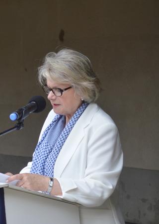 La Sénatrice Françoise FÉRAT