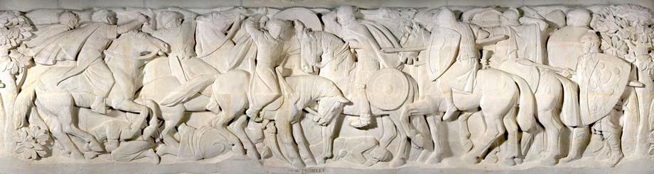 Mémorial de Dormans, Pano Pilier Gauche Fond (732)