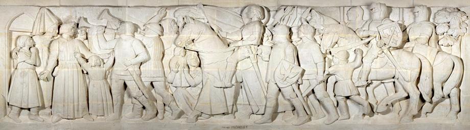 Mémorial de Dormans, Pano Pilier Droite Fond (1429)