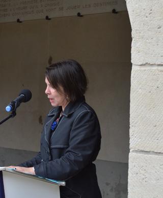 Rose-Marie ANTOINE, Directrice de l'Office National des Anciens Combattants et Victimes de Guerre.