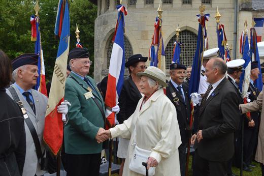Yvette LUNDY, résistante lors de la seconde guerre mondiale et Bruno DUPUIS