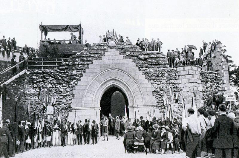 Dormans: construction du mémorial des batilles de la Marne 1914-1918