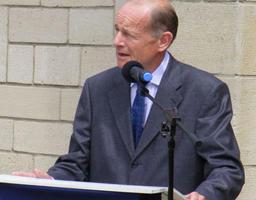 Philippe de la Rochefoucauld Président d'Honneur de l'association Mémorial de Dormans 1914-1918