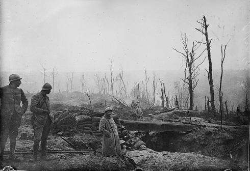 Tranchés première guerre mondiale nord est France