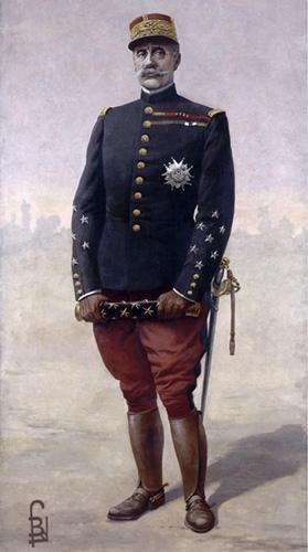 Le maréchal Foch par Louis Bombled 1920