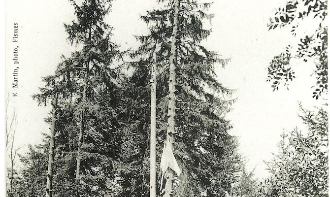 1ère cérémonie 18 juillet 1919 : implantation du Mémorial de Dormans