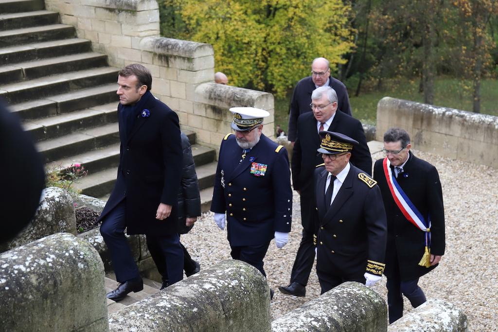 Le Président de la République au Mémorial