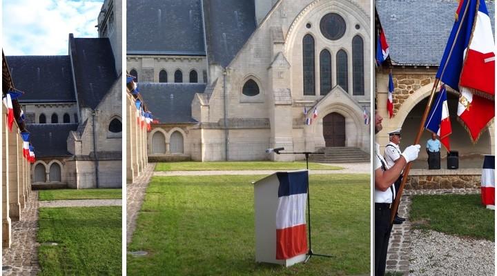 Images de la cérémonie du 18 juin 2020 au Mémorial de Dormans