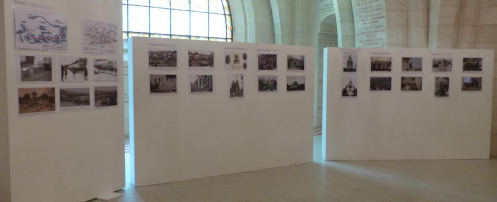 Le début de l'exposition