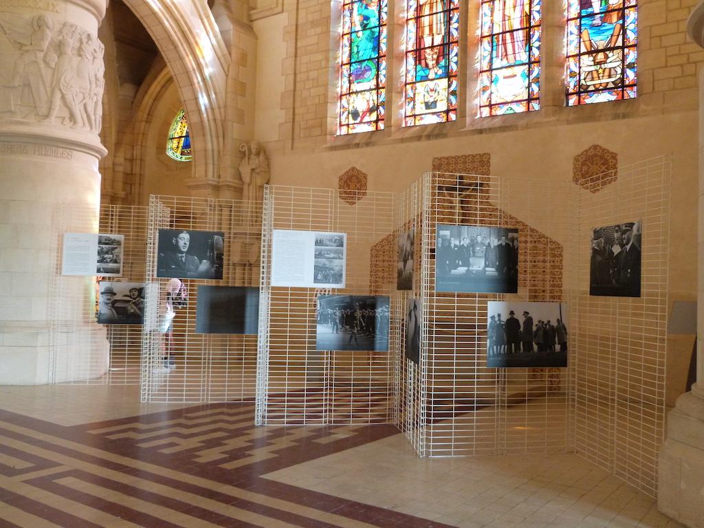 Début de l'exposition De Gaulle