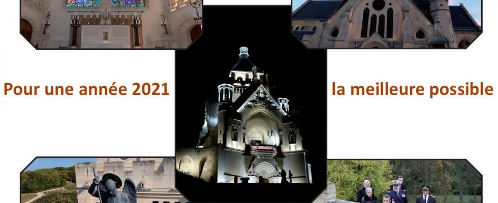 Le Mémorial de Dormans vous présente ses meilleurs vœux pour l'année 2021